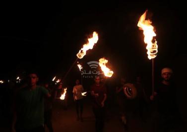 وحدات الارباك الليلي تهدد الاحتلال بعودة عملها على طول حدود غزة