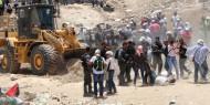 """إصابات واعتقالات بقمع الاحتلال لمسيرة """"الخان الأحمر"""