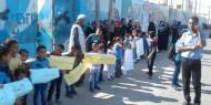 مظاهرات حاشدة في غزة تأييدا لتجديد تفويض الاونروا ودعما لمفوضها
