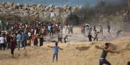 شهيد واصابة العشرات برصاص الاحتلال الاسرائيلي شمال قطاع غزة