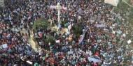 شاهد: مظاهرة في رام الله تُطالب بتعديل قانون الضمان الاجتماعي.. ومطالبات باقالة ابو شهلا