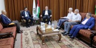 وفد من المخابرات المصرية وملادينوف إلى قطاع غزة