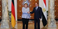 الاوضاع في غزة تتصدر قمة ميركل والسيسي بألمانيا