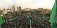 """صورة.. مهرجان """"إنطلاقة حماس"""" يفجر ثورة غضب موظفي حكومة غزة"""