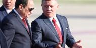 مصر والأردن يؤكدان أهمية التوصل إلى تسوية عادلة للقضية الفلسطينية