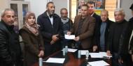 بالصور.. القائد محمد دحلان يدعم طلبة وكالة الغوث بمنحة مالية لمواجهة تقليصات الأونروا