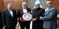 تفاصيل لقاء وفد حماس برئاسة هنية مع شيخ الأزهر