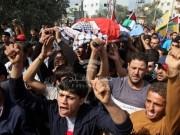 جماهير غزة تشيع جثمان الشهيد عمر الحجّار