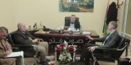 النائب ابو شمالة يستقبل جيلان ديفورن رئيس الهيئة الدولية للصليب الأحمر