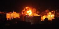طيران الاحتلال يشن غارات على قطاع غزة