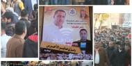 بالصور : حركة فتح محافظة رفح تقدم واجب العزاء لعائلة الأخرس بحشد جماهيري مهيب وبحضور معتمد الساحة