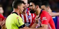 حكم مباراة برشلونة وأتلتيكو: دييجو كوستا سبني بأمي