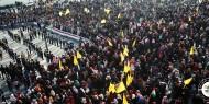 بالصور.. حركة فتح بساحة غزة تنظم مهرجاناً حاشداً تضامناً مع الأسرى في سجون الاحتلال
