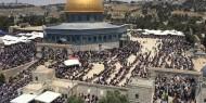 بالصور.. أكثر من 40 ألف مصلٍ أدوا اليوم صلاة الجمعة بالمسجد الأقصى المبارك