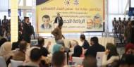 بالصور.. القائد محمد دحلان يقدم منحة للطلبة والمواقع الرياضية بغزة