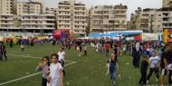 الاحتلال يقتحم ملعب مخيم شعفاط خلال احتفالية افتتاحه