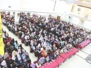 بالصور.. حركة فتح في رفح تُقيم حفلًا تأبينيًا لفقيدة الوطن أم عرفات ديب