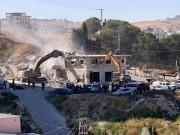 """جيش الاحتلال يهدم عشرات المنازل في """"واد الحمص """"بالقدس ويعلنها منطقة عسكرية مغلقة"""