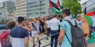 بالصور التيار الاصلاحى ببروكسل يتضامن مع أهلنا بلبنان