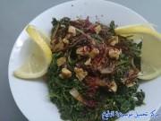 طريقة عمل سبانخ بالزيت من المطبخ السوري