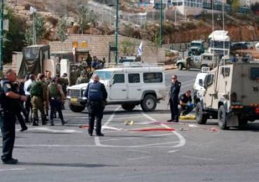 إصابة جنديين اسرائيليين برصاص مسلحين عند مدخل البيرة الشمالي