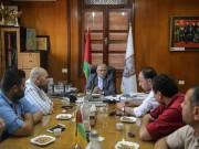 """بالصور.. """"إصلاحي فتح"""" يزور رئيس بلدية غزة لبحث سبل التعاون"""