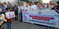 """بالصور.. """"إصلاحي فتح"""" ينظم مسيراً كشفياً دعماً لصمود الأسرى"""