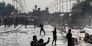 العراق: قتلى ومظاهرات وحرق مؤسسات وحظر تجول وقطع الإنترنت