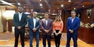 وفد فتحاوي يلتقي النائب المصري عبد الرحيم علي ورئيس تحرير جريدة البوابة نيوز