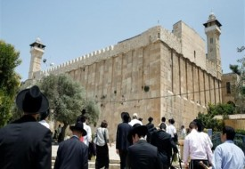 سلطات الاحتلال تمنع لجنة اعمار الخليل من استكمال ترميم الحرم الابراهيمي