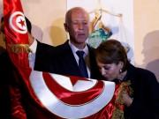 قيس سعيد: متمسكون بمناصرة القضية الفلسطينية المنقوشة في صدور كل التونسيين