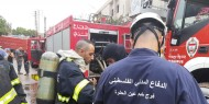 بالفيديو.. الدفاع المدني الفلسطيني يشارك بإطفاء حرائق لبنان