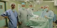 بالصور.. وفد طبي مصري يختتم زيارته لغزة بعد اجراءه عشرات العمليات الجراحية