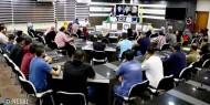 """بالفيديو والصور.. """"إصلاحي فتح"""" ينظم ندوة حول الإعلام الوطني الهادف في غزة"""