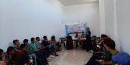 """بالصور.. """"إصلاحي فتح"""" يعقد لقاءً تدريبياً حول التنمية المستدامة في الوسطى"""