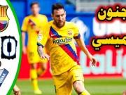 """شاهد.. """"الليجا"""": ثلاثي برشلونة يتلاعب بـ """"إيبار"""".. وخسارة صادمة لريال مدريد"""
