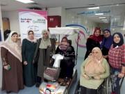 بالصور.. تيار الإصلاح يزور مرضى المستشفى العربي الأهلي في غزة