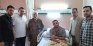 بالصور.. تيار الإصلاح يزور مرضى غزة بمستشفى المعادي في القاهرة