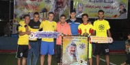 """بالصور  :  مجلس الشباب بتيار الإصلاح يفتتح دوري """"الشهيد ياسر عرفات"""" في رفح"""