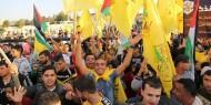 """بالفيديو والصور : الآلاف يحييون ذكرى الزعيم """"عرفات"""" في خانيونس"""