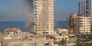 طائرات الاحتلال تشن سلسلة غارات على مناطق متفرقة في قطاع غزّة