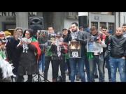 #بالصور::  تيار فتح الاصلاحى يتضامن مع غزة ببروكسل