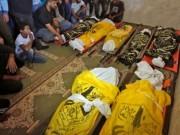 فيديو وصور : تفاصيل الدقائق الأخيرة قبل قصف إسرائيل لعائلة السواركة وسط قطاع غزة