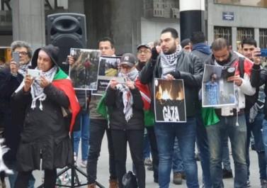 تيار الإصلاح ينظم تظاهرة في بروكسل تنديدا بالعدوان على غزة