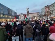 """بالصور.. تيار الإصلاح """"ساحة المانيا"""" يشارك في وقفة تضامنية مع غزة"""