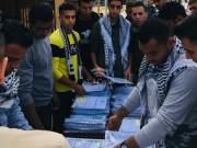 """بالصور.. الشبيبة الفتحاوية تواصل حملة """"التصوير النخفض"""" في جامعات غزة"""