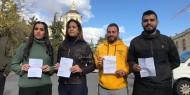 شاهد.. الاحتلال يفرج عن طاقم تلفزيون فلسطين في القدس المحتلة