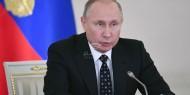 الرئيس الروسي فلاديمير بوتين يزور رام الله
