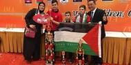 بالصور.. طالب فلسطيني الأول عالميا في مسابقة الذكاء العقلي