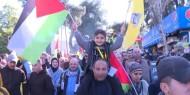 عرض عسكري لحركة فتح في رام الله لإحياء ذكرى انطلاق الثورة الفلسطينية